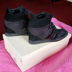 8fce3d3ff66 Coach Shoes - Coach Alara wedge sneaker